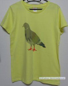 ハトTシャツ