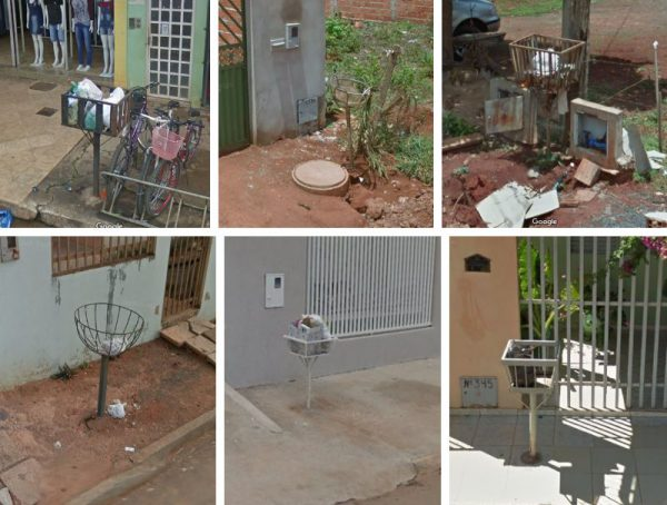 ブラジル、フォルモサのゴミ箱