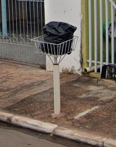 ブラジルのゴミ箱