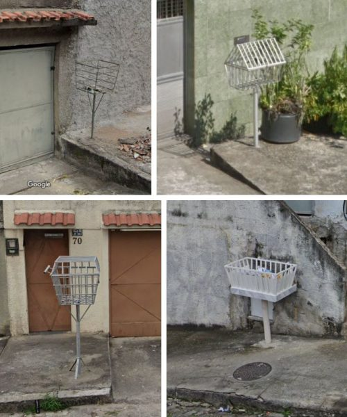 リオデジャネイロのゴミ箱